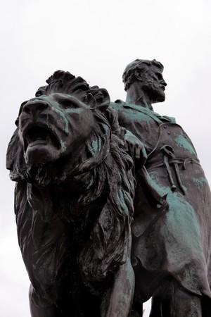 Victory monument. Detail. Buckingham palace. London. UK Stock Photo - 7406629