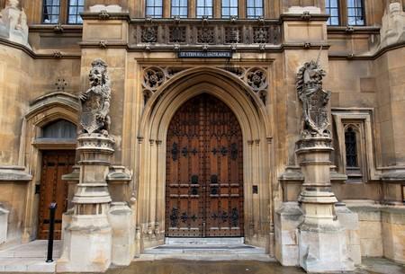 St Stephens entrance. Houses of Parliament. London. UK. photo
