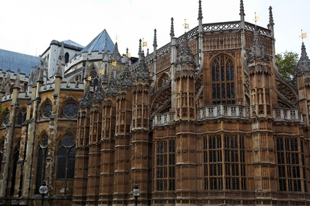 Fasade of Westminster Abbey. London. UK. Stock Photo - 7406701