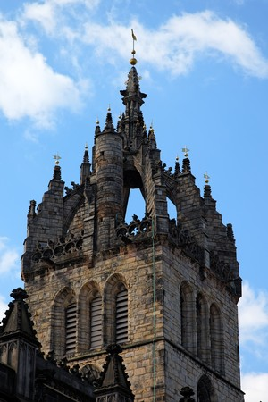 giles: Crown steeple of St Giles Cathedral. Edinburgh. Scotland. UK.