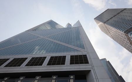 Bank of China tower. Hong Kong. Stock Photo - 10165376