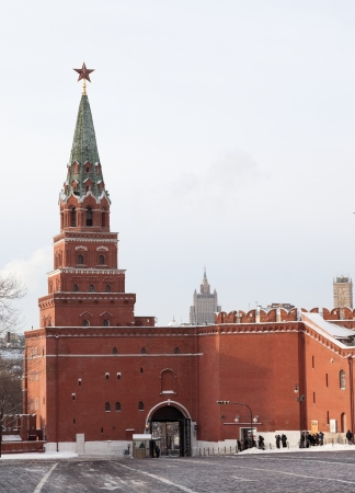 Borovitskaya tower  Moscow Kremlin  Russia  photo