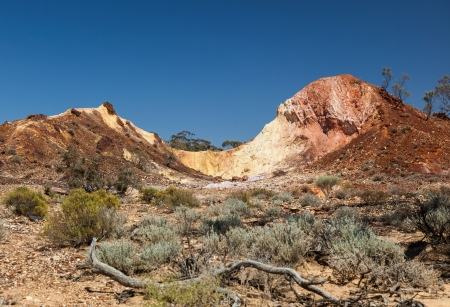 iga: Aboriginal sacred valley. Flinders Ranges (near Iga Warta). South Australia.