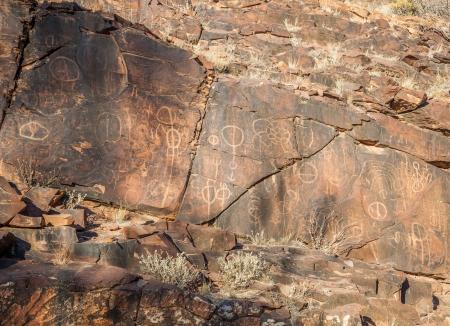 ranges: Chambers Gorge sito Incisione aborigeno Flinders Ranges South Australia