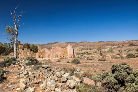 Ruins of abandon Kanyaka homestead  Flinders Ranges  South Australia  photo