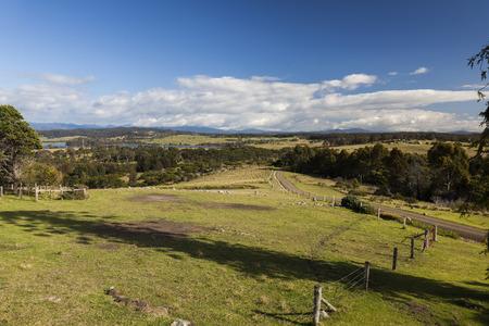 Countryside landscape  Bingie  near Morua    NSW  Australia Stock Photo - 28833888