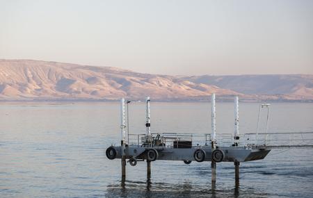 galilee: Sea lake of Galilee. Tiberias. Lower Galilee. Israel.