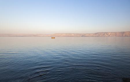 Sea lake of Galilee. Lower Galilee. Israel.