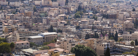 nazareth: View of the city of Nazareth. Israel