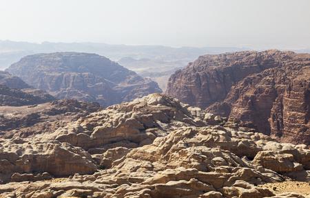 Mountains near Petra. Jordan.