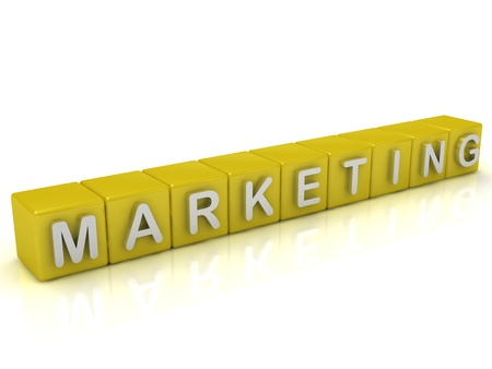 Inscription on the cubes of gold: Marketing photo