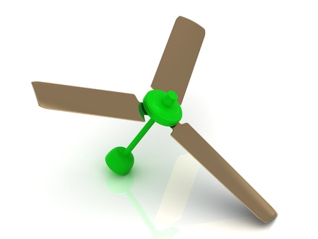 Illustration of ceiling fans arrangement stock photo picture and green ceiling fan with a reflective surface on white background photo mozeypictures Image collections
