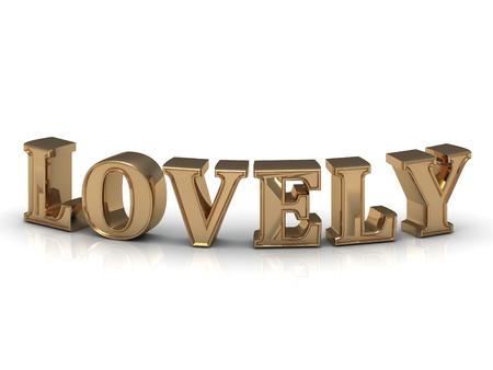 letras de oro: letras de oro hermoso en el fondo blanco