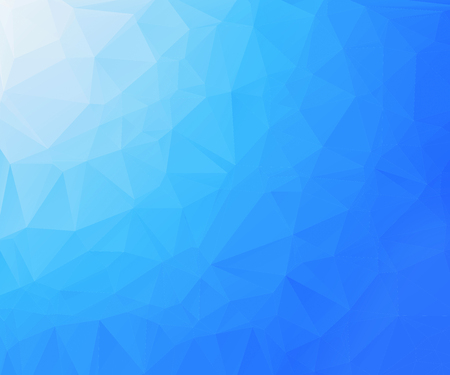 rumpled: Blue abstract geometric rumpled triangular low poly Background