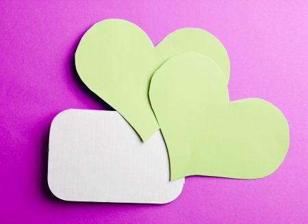 valentine's paper hearts , valentine's day , day valentine Stock Photo - 17223934
