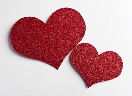 valentines paper heart , valentines day , day valentine Stock Photo