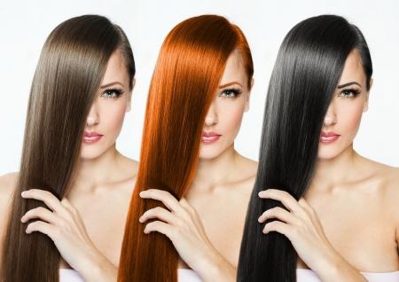 schwarze frau nackt: Mode Frisur Collage