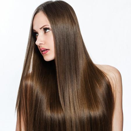 beautiful girl. healthy long hair. beauty model woman.
