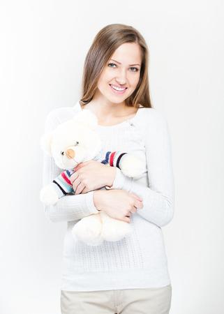 white socks: beautiful woman