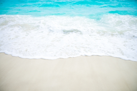Beautiful Sea and White sand photo