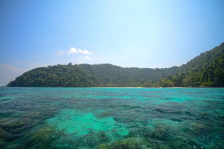phangnga: seascape  at Surin national park khao lak,Phang-nga, Thailand Stock Photo