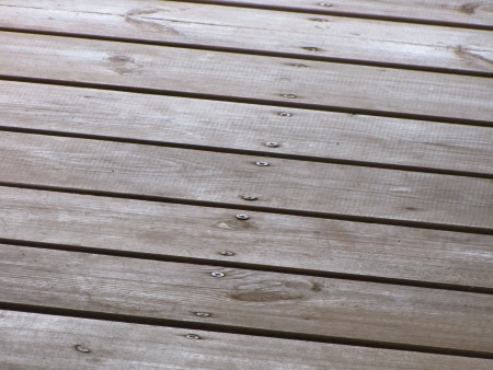 Wooden Deck Stock Photo - 23245237