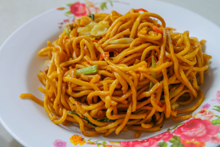 chinese food: Chow mein