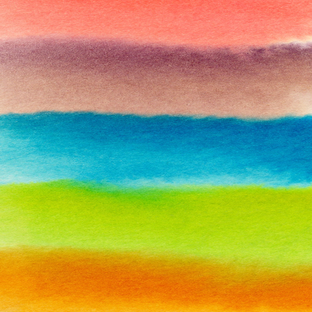 Watercolor hand painted abstract background. Fresh colorful background.