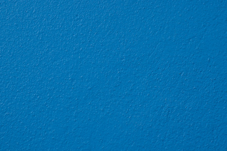 wall paint: concrete wall paint blue color background Stock Photo