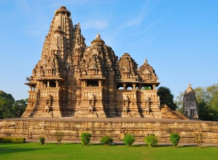 Temple in Khajuraho India photo