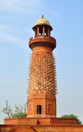 fatehpur: ivory tower of Fatehpur Sikri Stock Photo