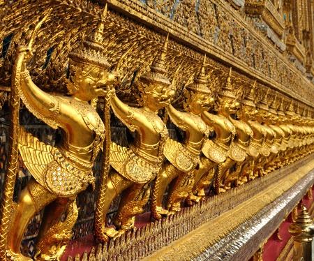 Interior of the Grand Palace in Bangkok. Thailand. Stock Photo