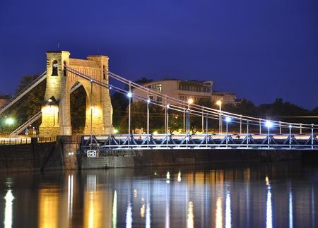 Grunwald bridge in Wroclaw. Poland