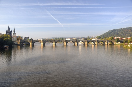Charles Bridge in Prague. photo