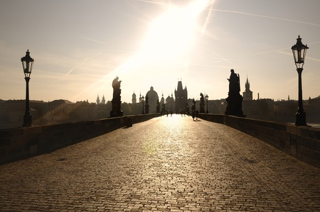 Charles Bridge in Prague. photo