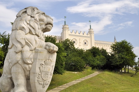lublin: Castle of Lublin in Poland. Historical monuments. Editorial