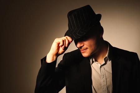 hombre con sombrero: El hombre en el sombrero