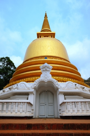 Golden Temple in Dambulla, Sri Lanka  photo