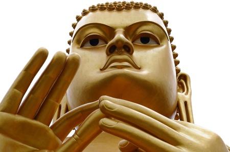 budda: Golden Buddha in Dambulla, Sri Lanka