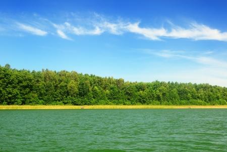 Lake   Lake in Mazury in Poland Stock Photo - 15488604