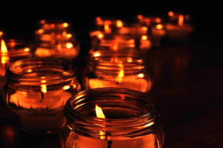 all souls day: Candles for All Souls Day