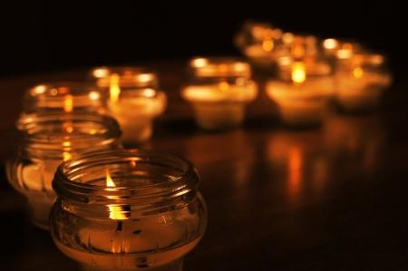 すべての聖人の日のための蝋燭