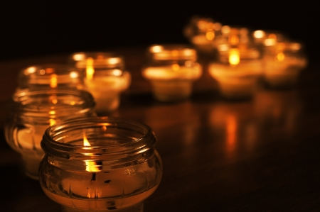 death candle: Candles for All Souls Day