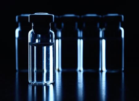 immunize: Vials of medications