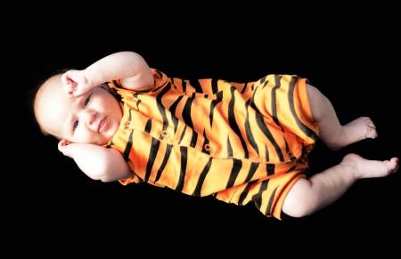 rompers: Beb� como tigre
