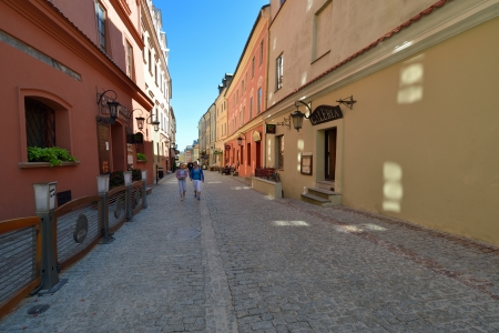 LUBLIN, POLAND - JULY 22  Old town of Lublin on July 22, 2013 in Lublin, Poland  Lublin is the biggest city in eastern Poland  It is one of the oldest cities in Poland, with historic Old Town