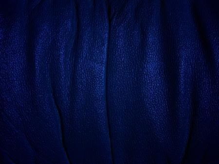 Dark, blue skin  photo