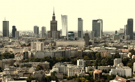 ワルシャワ 写真素材
