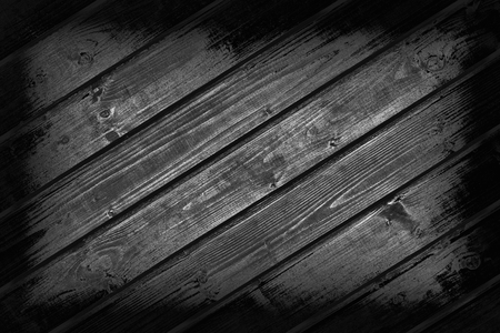 black wood texture: Black and white from wooden boards