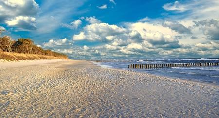Baltic sea. Stockfoto